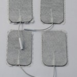 Spare Replacement Large TENS Electrode Pads - for use with Elle or Neurotrac TENS