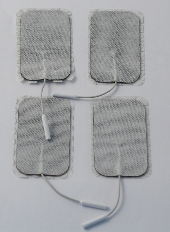 Spare Replacement Large TENS Electrode Pads – for use with Elle or Neurotrac TENS