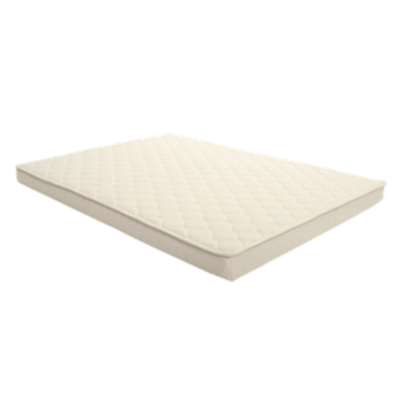Arm's Reach Sleigh Bed Co-Sleeper Organic Mattress