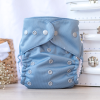 Baby Beehinds Multifit nappy Ice blue