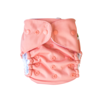 Baby Beehinds Multifit nappy coral
