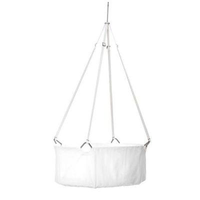 Leander cradle white