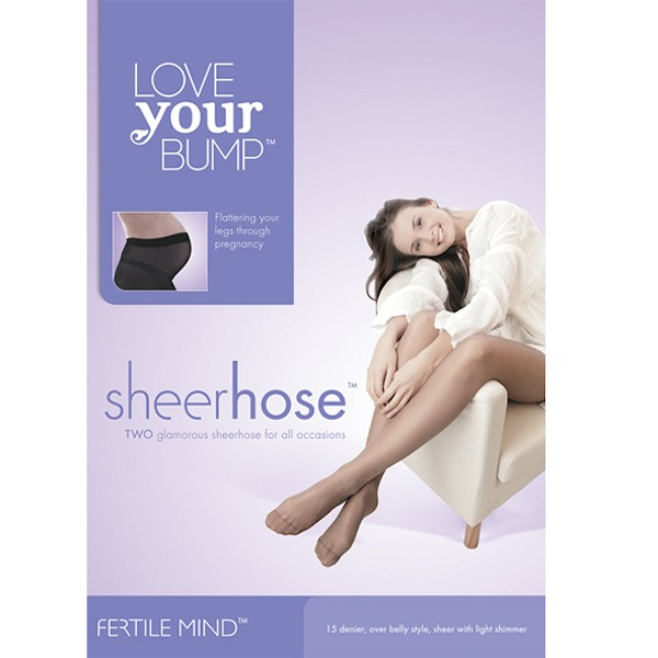 SheerHose 2 Pack Maternity Hosiery