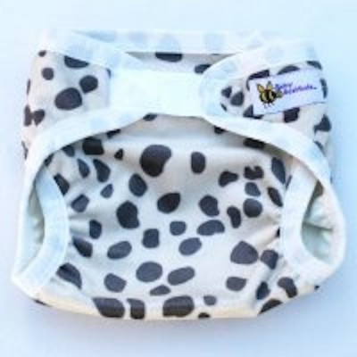 Baby Beehinds Nappy Covers - Minkee with Velcro