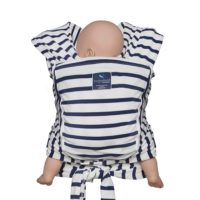 hugabub organic wrap baby carrier french sailor