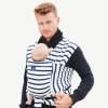 Hugabub organic Pocket wrap baby carrier - French sailor