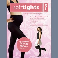 SoftTights Microfibre Maternity Tights from Fertile Mind
