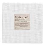 little bamboo bassinet airflow cellular blanket