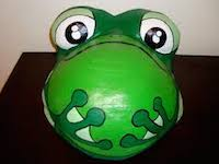 belly cast frog