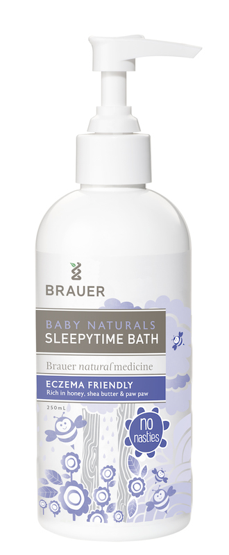 Brauer Baby Naturals Sleepytime Bath 250ml Birth Partner