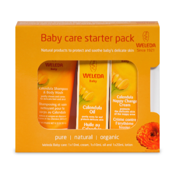Weleda Baby Care Starter Pack