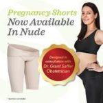 SRC Pregnancy Shorts - Nude/Champagne Colour