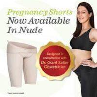 SRC Pregnancy Shorts – Nude/Champagne Colour