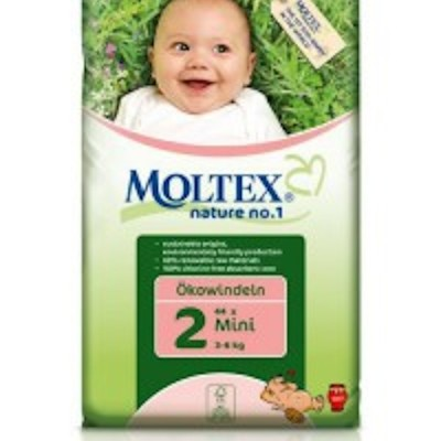 Moltex Nature No. 1 Eco Nappy Mini