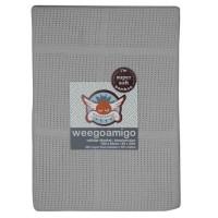 Weegoamigo Cellular Baby Blanket silver