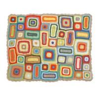 Weegoamigo Crochet Baby Blanket Rupert