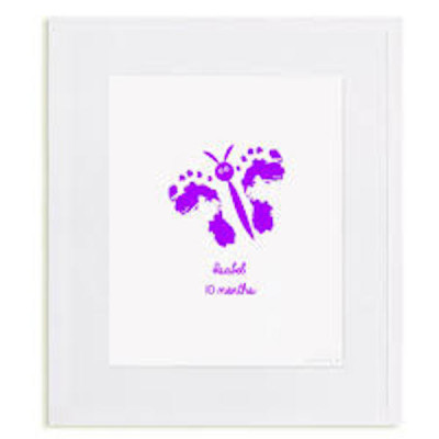 baby footprint art 4