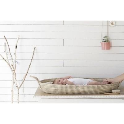 olli ella reva changing basket with baby