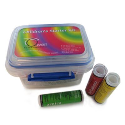 Homeopathic childrens starter kit