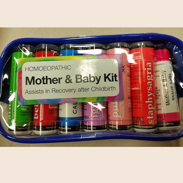 Homeopathic Mother & Baby Kit from Owen Homoeopathics