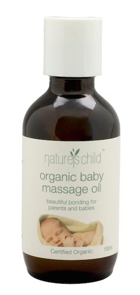 Nature's Child Organic Baby Massage Oil 100ml