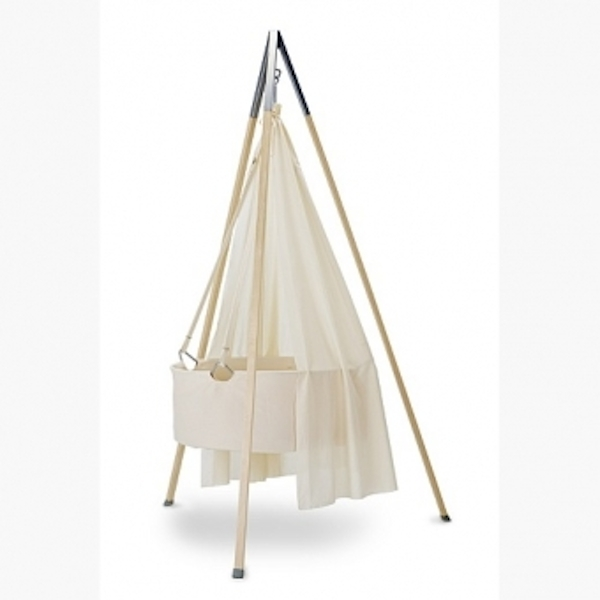Leander Cradle Tripod Stand and Canopy Package