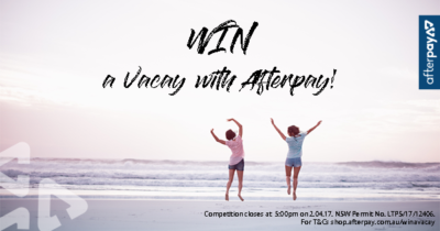 win a vacay with afterpay wide pic