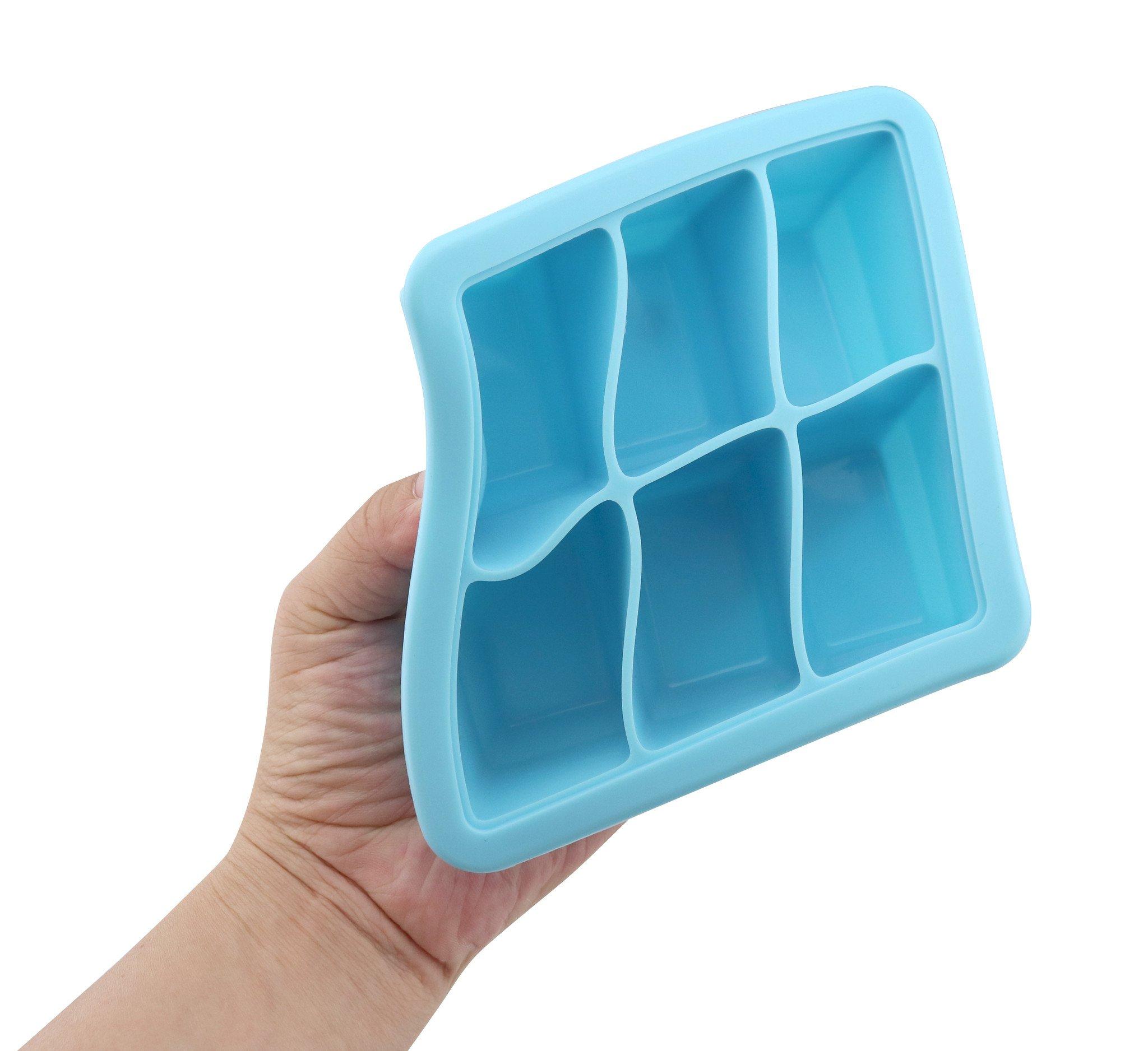 Breast milk freezer trays