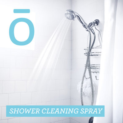 essential oil shower cleaning spray