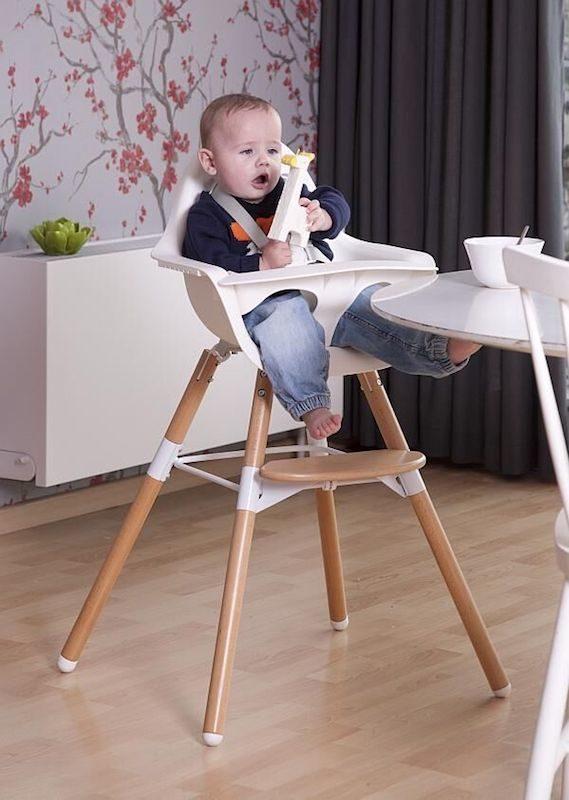 Evolu 2 High Chair dinner