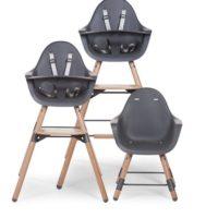 Evolu 2 High Chair grey trio 1