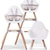 Evolu 2 High Chair white trio