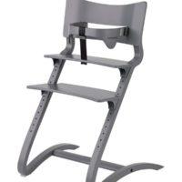 leander high chair grey with safty bar