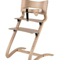 leander high chair natural with safety bar