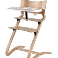 leander high chair natural with tray