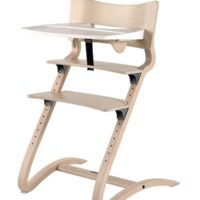 leander high chair whitewash with tray 2