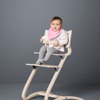 leander high chair with baby safety bar