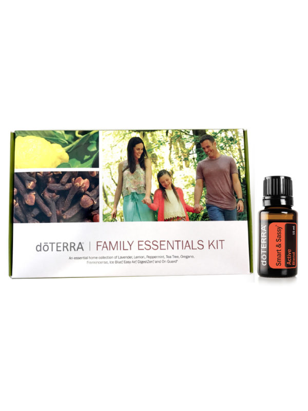 doterra family essentials kit + smart & sassy