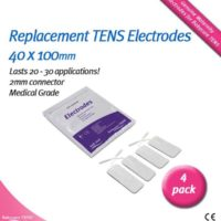 Bodyclock TENS electrode pads 40 x 100
