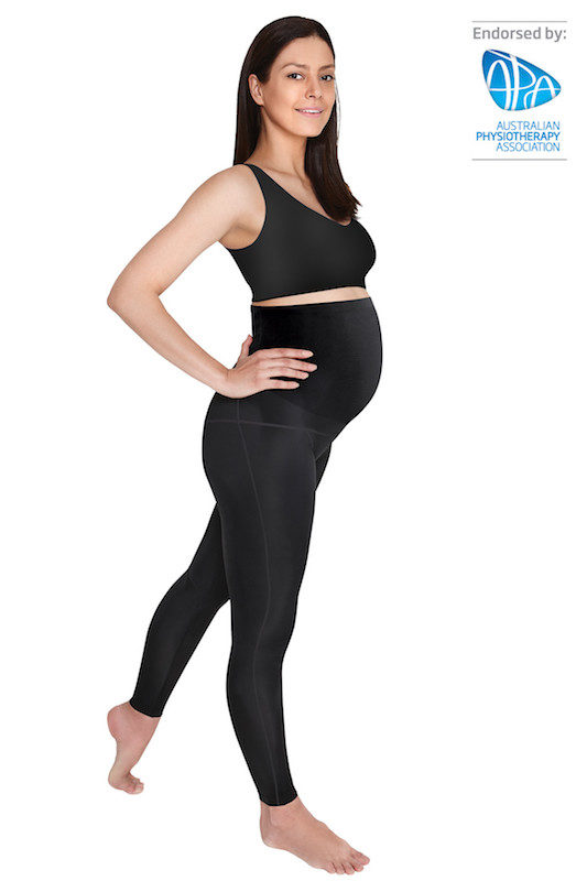 SRC over the bump pregnancy leggings