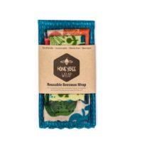 honeybee wraps reusable beeswax wrap kitchen starter pack set of 3