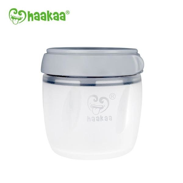 Haakaa Generation 3 Silicone Storage Container grey