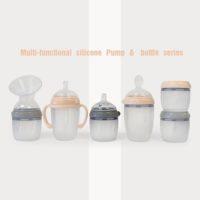 haakaa generation 3 silicone baby bottl range