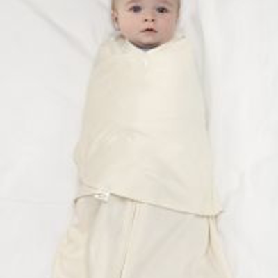 halo sleepsack swaddle newborn cream