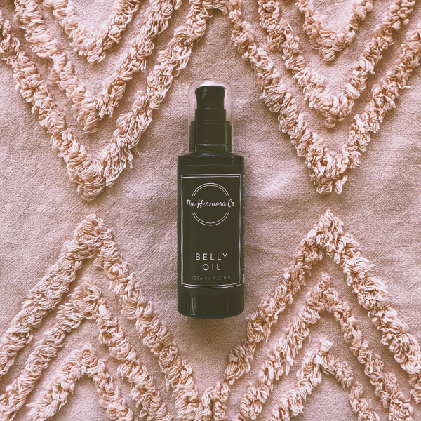 Belly oil to prevent and heal stretch marks from The Hermosa Co