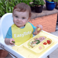 Easymat Ikea Antilop High Chair Perfect Fit Suction Plate – buttercup