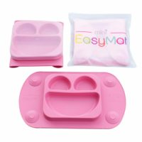 Easymat Travel Suction Plate – pink