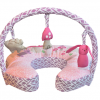 Mombo Breastfeeding Pillow with toys - fairytale dream