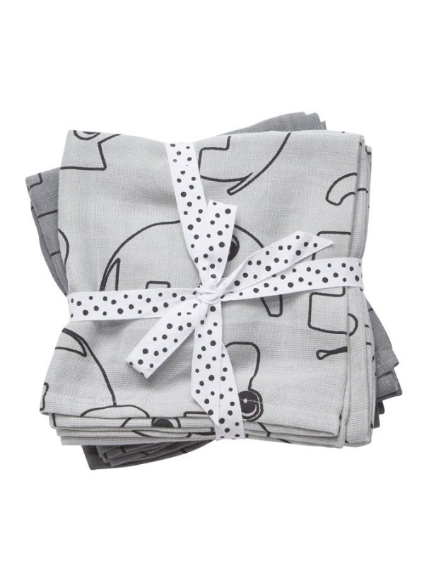 Done by Deer Baby Swaddle Contour – Grey