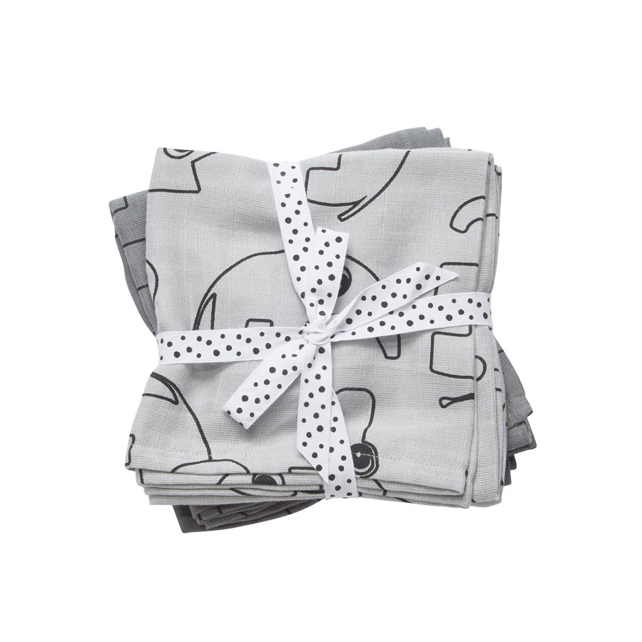 Done by Deer Baby Swaddle Contour - Grey